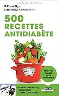 500 recettes anti-diabète | Solutions-diabetes