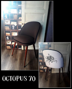 Chaise OCTOPUS 70