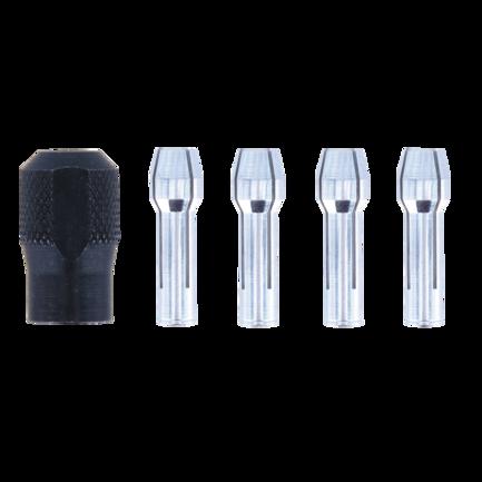 Dremel kit 4 pinze con ghiera di serraggio 4485