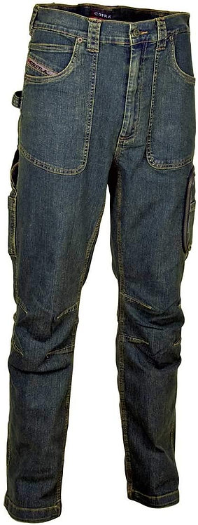 COFRA PANT.BARCELLONA JEANS COTONE