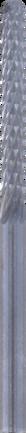 Dremel punta da taglio a spirale (562) per piastrelle