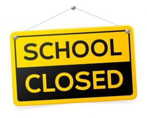 Schools closed for the remainder of the school year