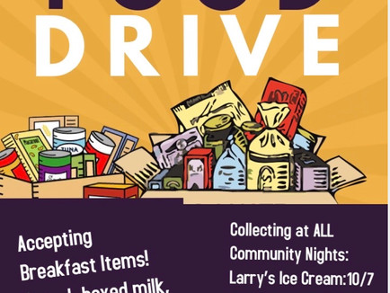 Harvest Drive Donations