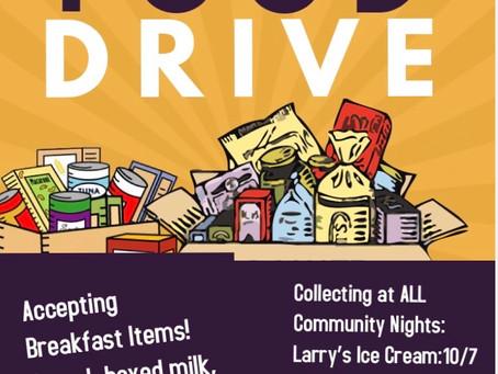 Harvest Drive Donations