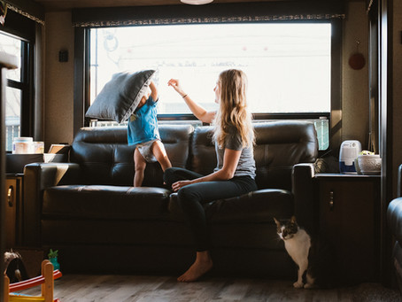 In-home session: Jessica and Merek