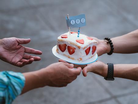 100 day celebration!