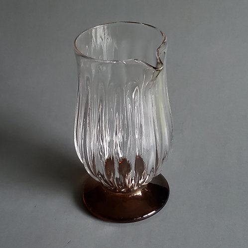 Ribbed Cocktail Mixing Glass