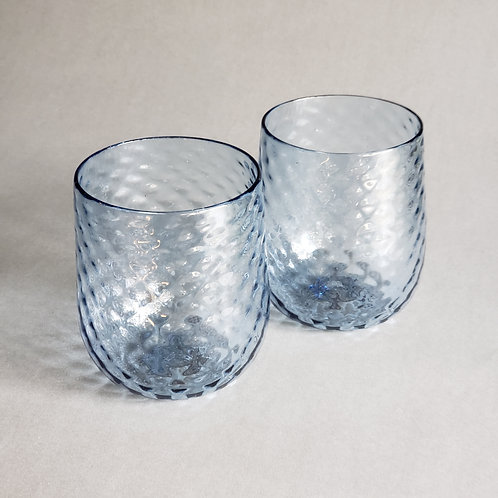 Pair of Stemless Wine Glass