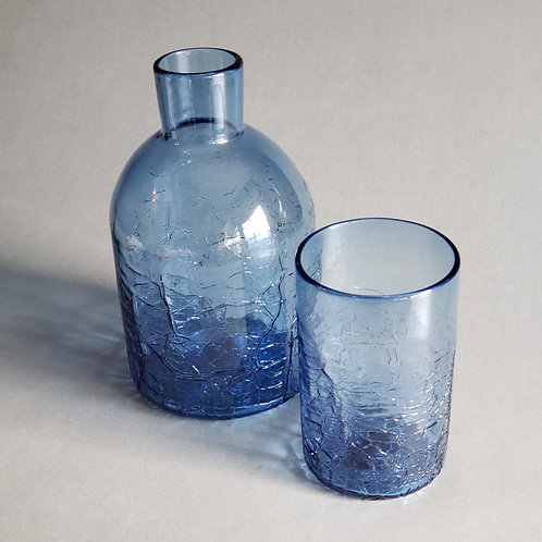 Crackle Finish Carafe Set
