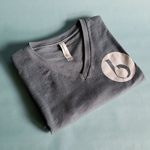T-shirt - Heather Slate