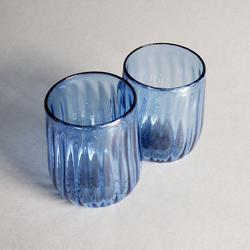 Pair of Stemless Wine Glass