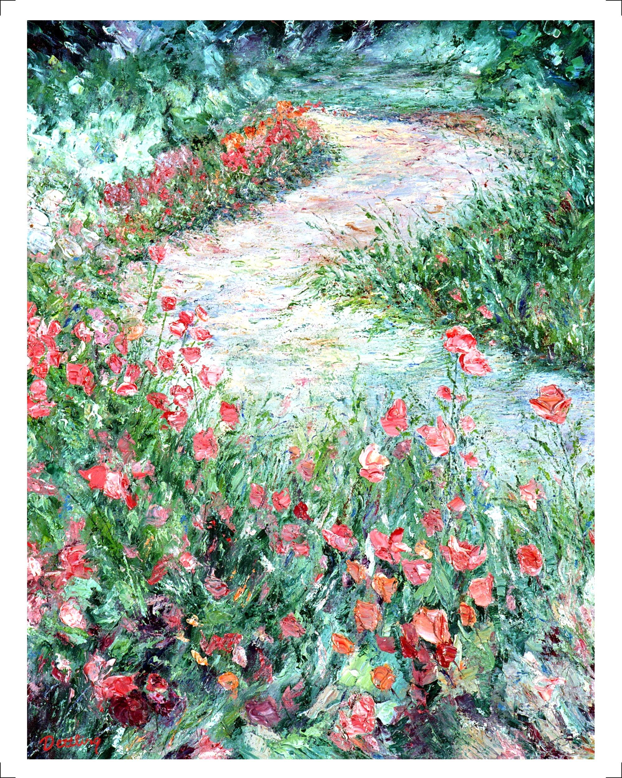 Tulip Walk 28x22