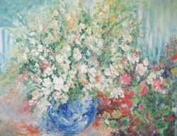 Blue Vase 24x30