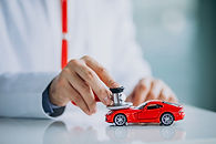 car-doctor-with-stethoscope-car-showroom