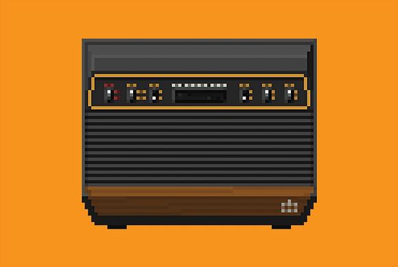 Atari 2600 / A4 Print