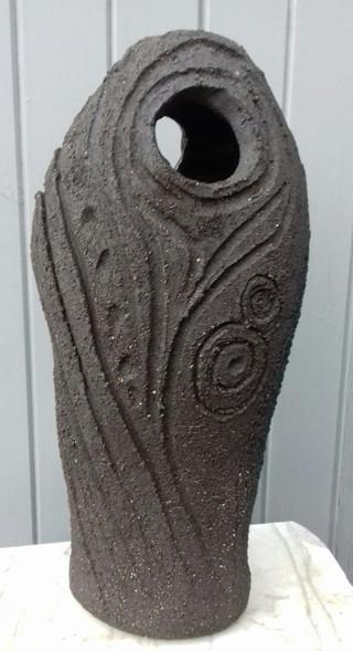 Tall, Pierced Standing Stone