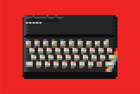 ZX Spectrum/ A4 Print