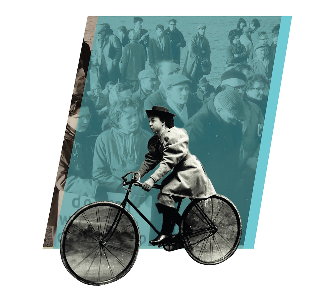 Dunoon Forward cycling past the American Years
