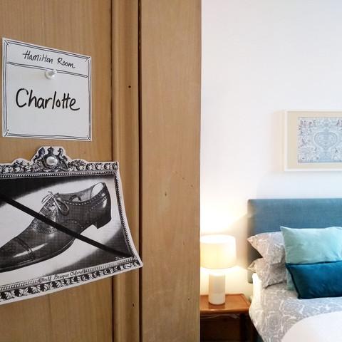 Hamilton Room Door