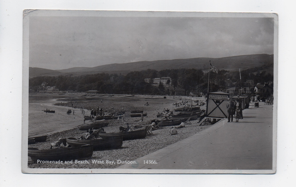 An image from the See you in Dunoon postcard trail, Westbay