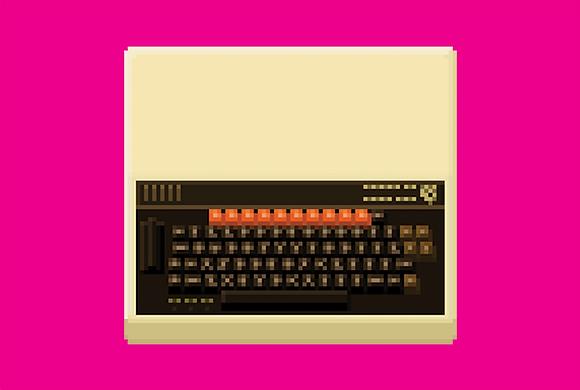 BBC Micro computer/ A4 Print