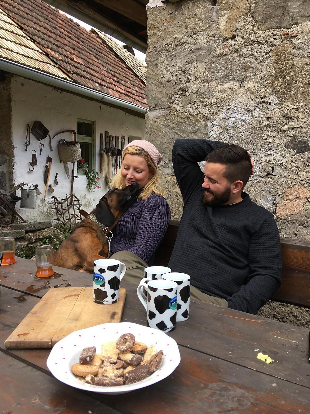 Jakub Dvorsky and Adriana Patkova, founders of the Lisov Museum