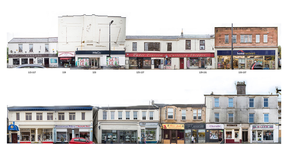 The People of Place: The Shop Keepers of Argyll Street, Dunoon