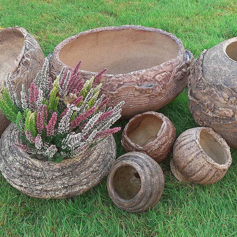 Open garden at Holy Loch Pottery