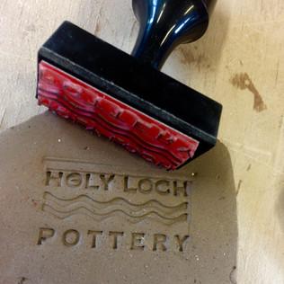 Holy Loch Pottery Stamp