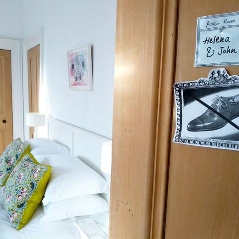 Ruskin Room Door