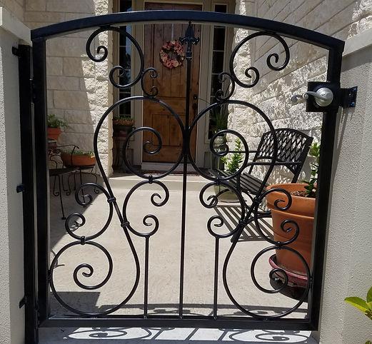 gate & entry, rod iron, welding, fabrication