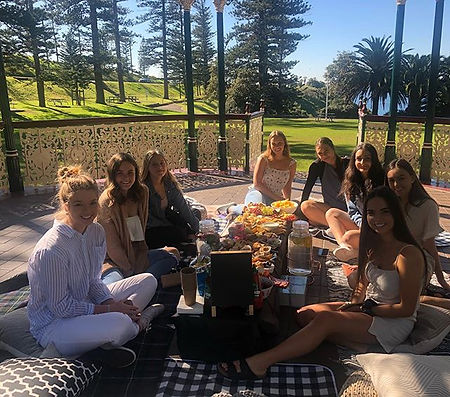 Some gorgeous girls enjoying one of our