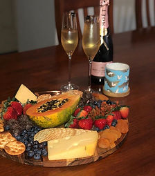 Wedding morning platters to start your m
