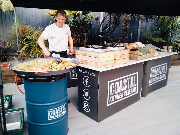 Mobile Catering Set Up