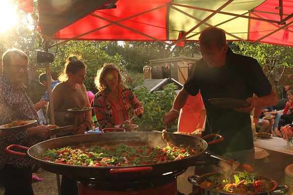 Garden Party Big Pan