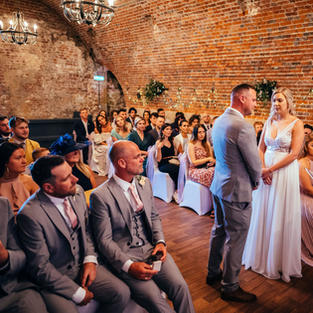 Saying the 'I do's'