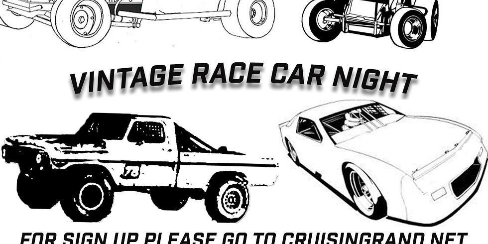 Cruisin Grand Vintage Race Car Night