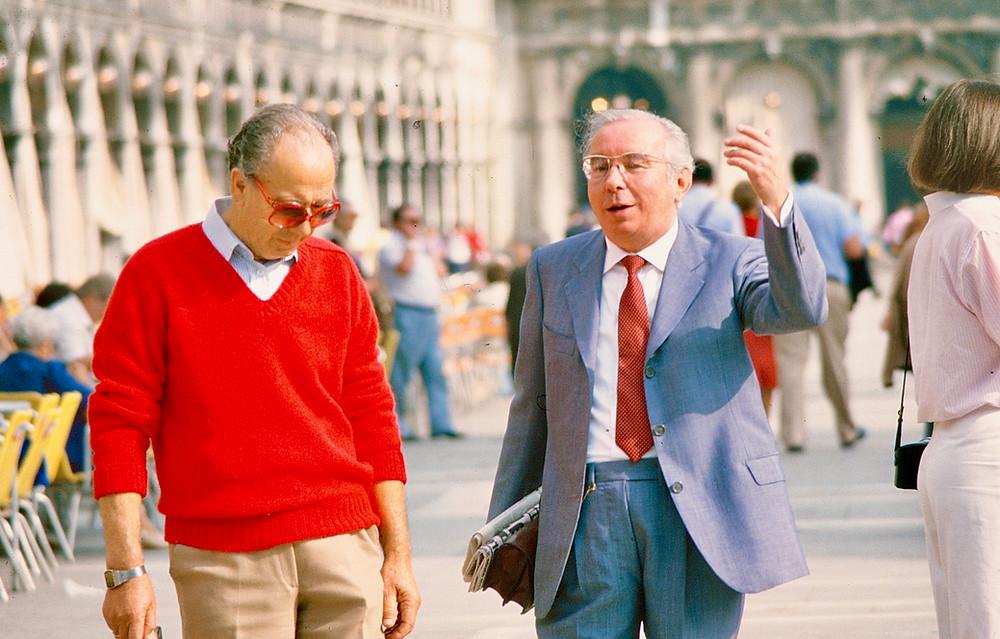 Italian men Venice 1980