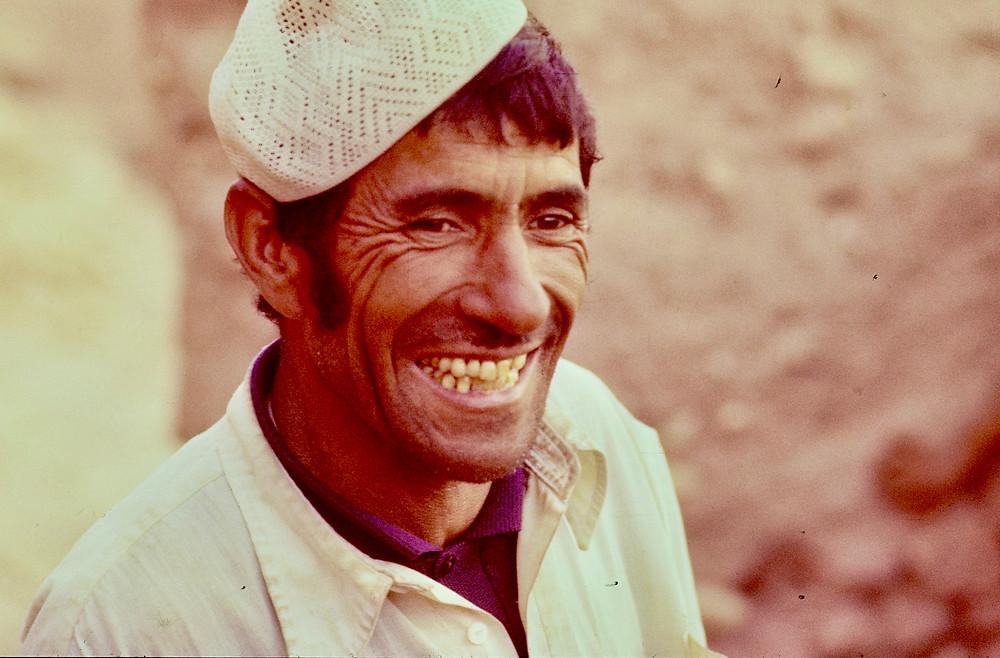 Moroccan face 1978