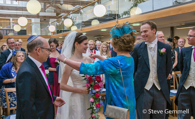 Jewish wedding photographed by Hatfield House Wedding Photographer Steve Gemmell