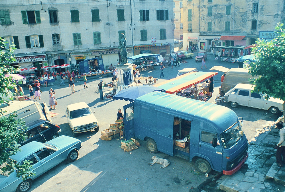 Market Ajaccio