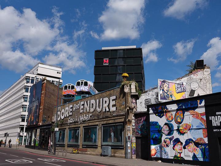 Amusing Graffiti Soreditch London