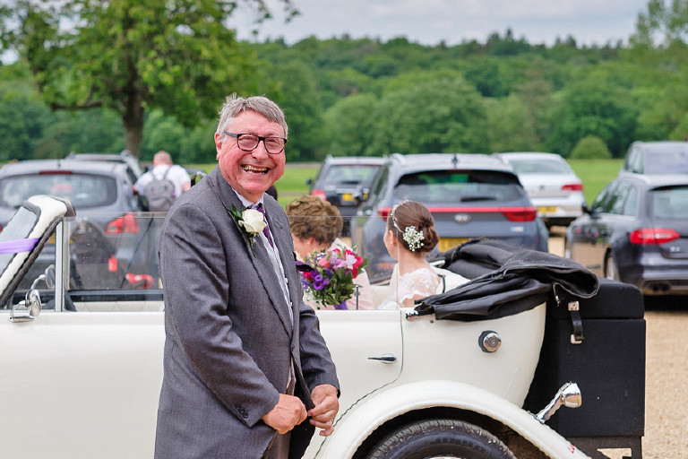 Father of the Bride at Knebworth House by Steve Gemmell