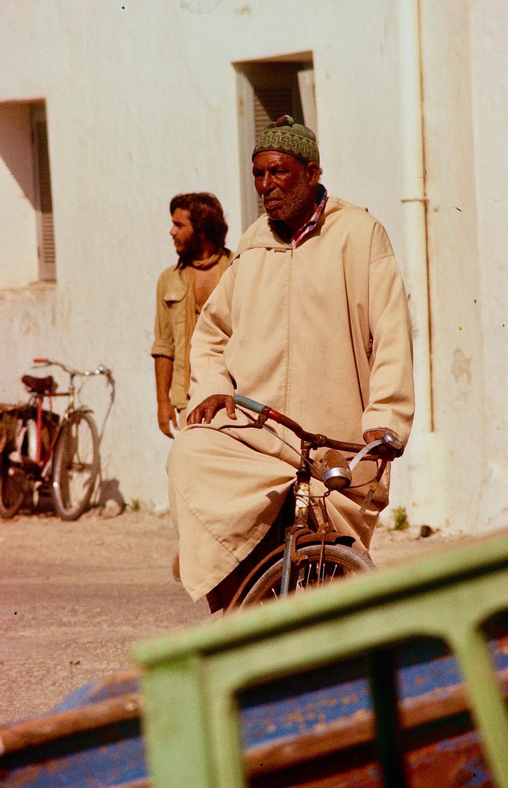 Moroccan cyclist 1978