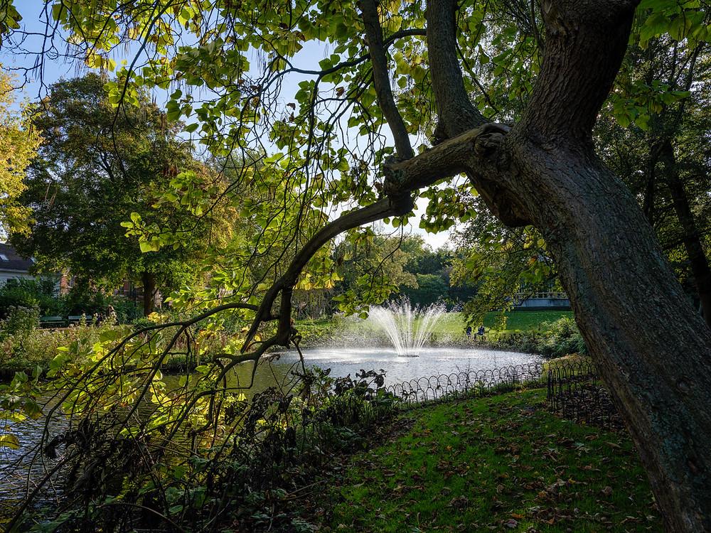 Astrid Park in Bruges