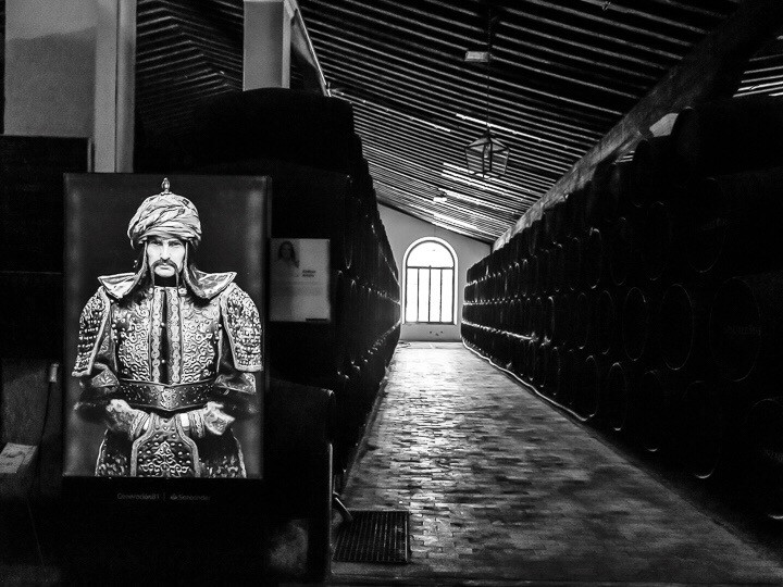 Photographic exhibition in the Gonzalez Byass Sherry Cellars