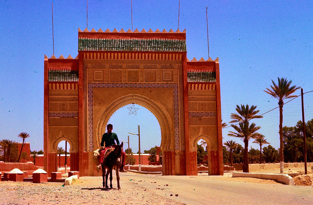 City Gate Rissani Morocco 1978