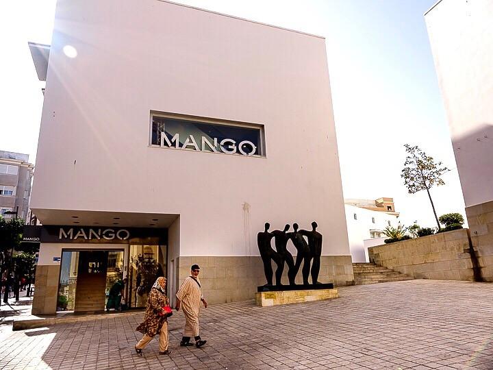 Mango store in Cetua