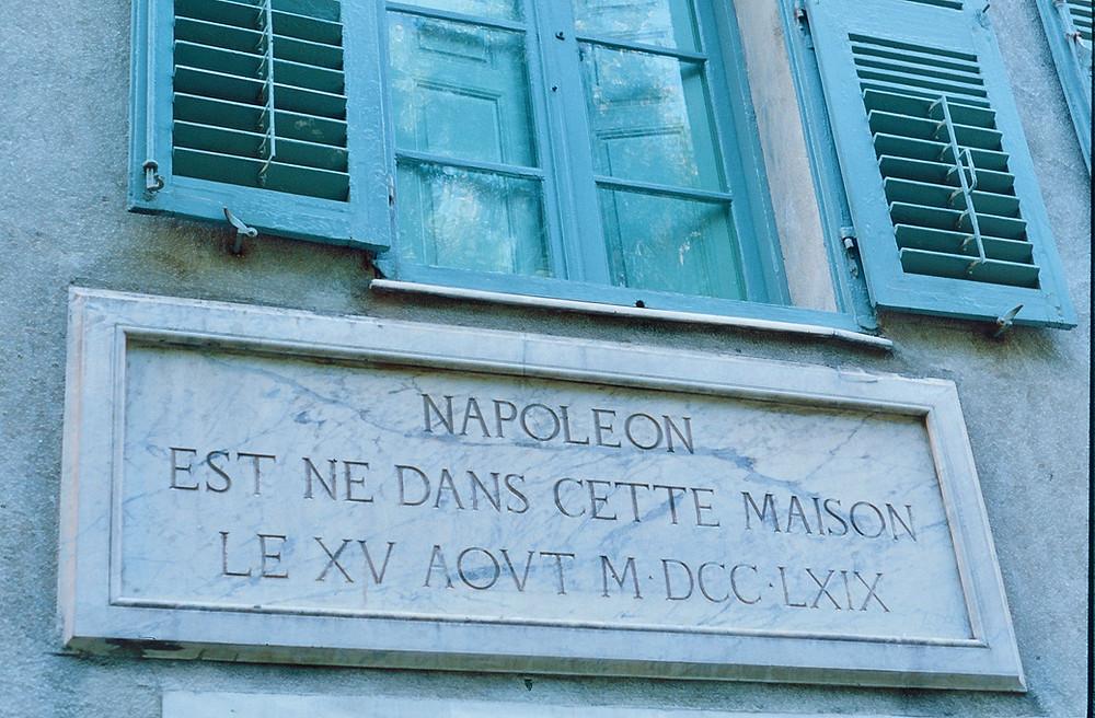 Napoleon's birthplace Ajaccio Corsica