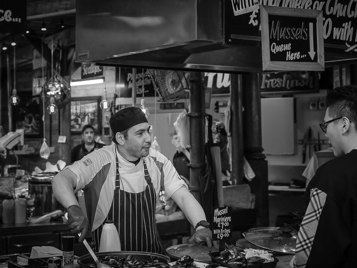 Borough Market Stall London